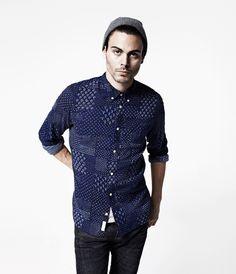 Daito Shirt, Men, Shirts, AllSaints Spitalfields
