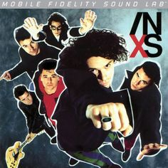 INXS - X on Numbered Limited Edition LP from Mobile Fidelity Silver Label