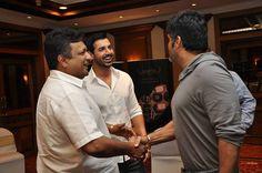 Sanjay Gupta (director), John Abraham and Suniel Shetty