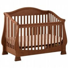 Baby Cache Oxford Lifetime Crib Cherry Baby Cache