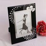 """""""Heartfelt Memories"""" Black Photo Frame RB1223-RB"""