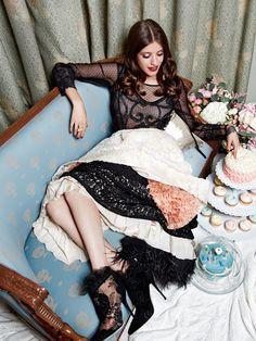 Anna Chipovskaya for Glamour Russia September 2014
