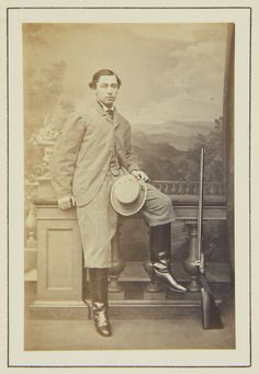 Prince Alfred, 1864 [in Portraits of Royal Children Vol.8 1864-1865] | Royal Collection Trust
