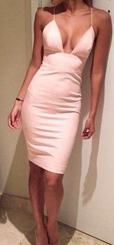 tight dress, shoes, pretty dress, powder pink, short prom dress, dress, high heels, short party dresses - www.MySexyStyles.com