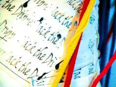 Alumna Cecilia Strada  Diseño I: inspiradas en Jackson Pollock. 1