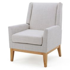 This Christopher Knight Home Aurla Upholstered Chair, With Its Sharp,  Contemporary Features, Is