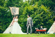 「冒険のはじまり」というコンセプトの結婚式 by クレイジーウェディング。  photo by Masato Kubo / kuppography  http://www.kuppography.com