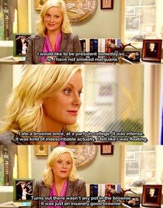 Classic Leslie knope