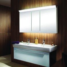 Finest b&m bathroom mirror cabinet to refresh your home Mirror Cabinet With Light, Bathroom Mirror Cabinet, Mirror Cabinets, Diy Cabinets, Plywood Countertop, Stock Kitchen Cabinets, Schneider, Cheap Home Decor, Storage Spaces