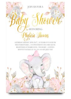 Elephant baby shower invitation,Elephant with flowers, elephant, pink elephant, vintage elephant,baby shower invitation,cheap baby shower invitation, its a girl, cute baby shower invitation, retro, modern,white, girl baby shower invitation, dream paperie printables, cheap and cute, cheap invitations, dream paperie ,cheap invitations, modern invitation, cheap modern baby shower invitation, modern baby shower invitation, modern baby shower invitation, baby shower invitation