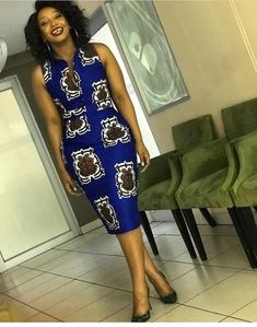 Online Hub For Fashion Beauty And Health: Stunningly Colorful Ankara Fitted Midi Gown Dress ...
