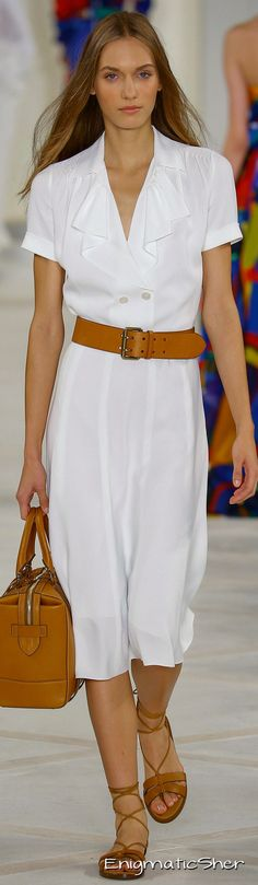 Ralph Lauren Spring 2016 Ready-to-Wear