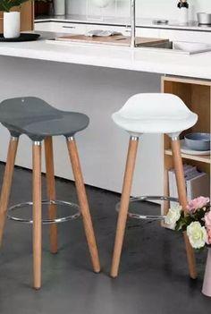 Silla Alta (banco) Juno Gris Kit De 2 Eames - $ 2,990.00
