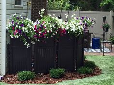 Landscaping Ideas To Hide Pool Equipment 900 hide propane tank home design photos Creative Way To Hide That Ugly Pool Equipment I Used 2 Sets Of Panels With