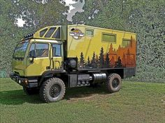Expedition vehicle LMTV 4X4
