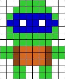 Ninja Turtle (Change mask color to change turtles)
