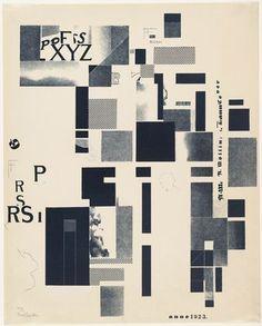 Kurt Schwitters. Plate 4 from Merz 3. Kurt Schwitters 6 Lithos. Merz Portfolio. First Portfolio of the Merz Publisher (Merz 3. Kurt Schwitters 6 Lithos. Merz Mappe. Erste Mappe des Merverlages). 1923