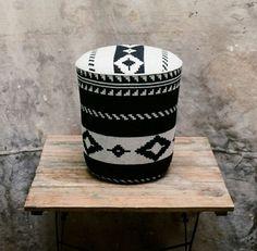 bucket ottoman