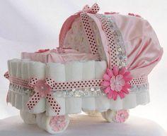 Baby girl diaper buggy