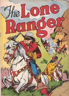 The Lone Ranger 1 Golden Age Comic