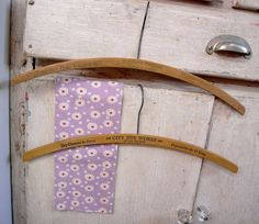 U.S.A.アンティーク木製ハンガー2Pセットウッドハンガー Antique wood hanger ¥3000yen 〆04月15日