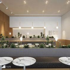 인플 - 상업공간 인테리어 비교견적, 인테리어플랫폼 Japanese Interior Design, Office Interior Design, Office Interiors, Cafe Shop Design, House Design, Café Bar, Cafe Bistro, Workspace Design, Co Working