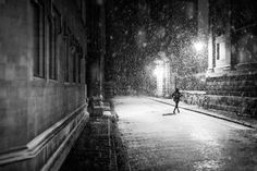One of many great free stock photos from Pexels. This photo is about night, person, street Rain Photography, Photography Projects, Creative Photography, White Photography, Monochrome Photography, Wedding Photography, Running In The Rain, Walking In The Rain, Running Club