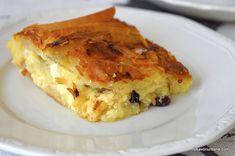 Romanian Food, Spanakopita, Dessert Recipes, Desserts, Donuts, Sweets, Cooking, Breakfast, Ethnic Recipes