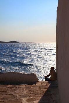Aegean view, Mykonos, Greece