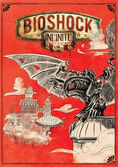 This is the reverse cover to Bioshock Infinite. Miles better than the art they used for the front cover. 15 stunning pieces of video game cover artwork Bioshock Infinite, Bioshock Game, Bioshock Series, Irrational Games, Video Game Art, Video Games, Nerd Art, Cultura Pop, Box Art
