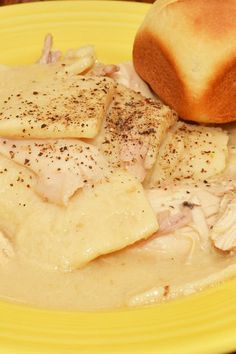 Easy Weight Watchers Chicken and Dumplings Recipe - 5 PointsPlus; 4 Previous Points
