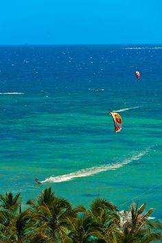 Kite Surfing - Noumea, Grand Terre, New Caledonia