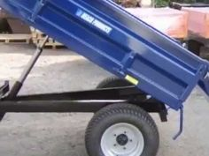 Berkelmans Welding 2 ton farm dump trailers - YouTube
