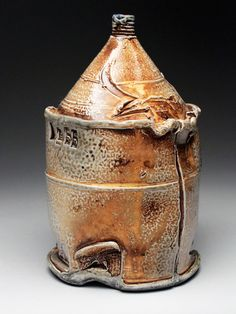Michael Schmidt salt fired pottery for sale at MudFire Gallery in Atlanta, Decatur, GA