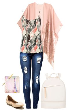 University #299 by ambere3love34 on Polyvore featuring M&Co, H&M, Wanted and Want Les Essentiels de la Vie
