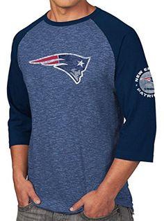 New England Patriots Majestic NFL Great Move Men s 3 4 Sleeve Tri-Blend T- Shirt Camicia  Amazon.it  Sport e tempo libero 934a99ebf