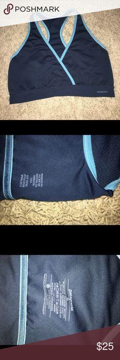 Patagonia Teal Sports Bra Good condition no rips or stains Patagonia Intimates & Sleepwear Bras
