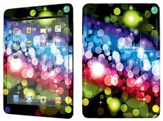 Amazon.com: Yellow, Red and Blue {Bright Lights} Front and Back Full Body Adhesive Vinyl Decal Sticker for iPad Mini 1st Generation Models A1432, A1454 and A1455 (No Air Bubbles - Removable Residue Free Skin}: Computers & Accessories