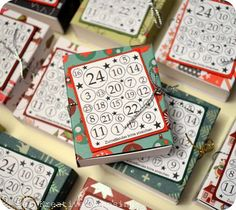 Na habt ihr heute schon ein Türchen am Adventskalender geöffnet? Ich habe heute die letzten Mini Adventskalender verteilt und jetzt kann...