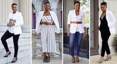 4 Cool Ways to Wear a White Blazer