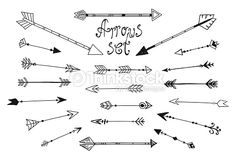 bow and arrow drawing design - Google Search