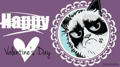 grumpy cat valentin's day card