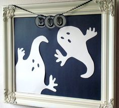 STARSHINE CHIC : Even my wall is looking spooktacular