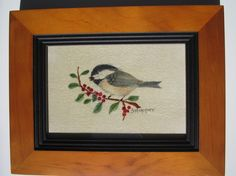 Chickadee chicadee theorem painting by SmallWondersArt on Etsy, $25.00