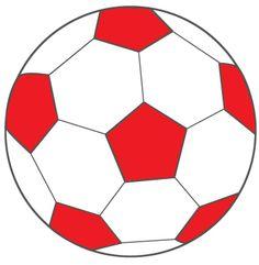 voetbal rood