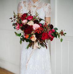 Modern-Vintage Valentine's Day Elopement Inspiration | Green Wedding Shoes | Weddings, Fashion, Lifestyle + Trave