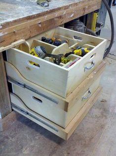 Diamond Wheels organising tools
