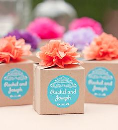 5 Ways To Style Kraft Favor Boxes from My Own Ideas blog