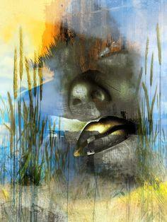 'The begin of the summer' von Gabi Hampe bei artflakes.com als Poster oder Kunstdruck $23.56