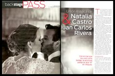 One of our most beautiful brides, Natalia Castro. Her wedding was so amazing that was featured on CARAS magazine. @W VIEQUES STEM Events floral / flowersbyanabelle.com San Juan, Puerto Rico